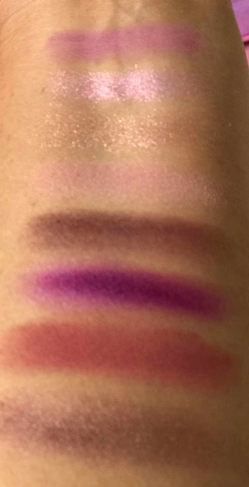 Lime Crime Venus 3 review & swatches