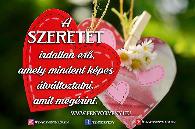 A szeretet irdatlan erő