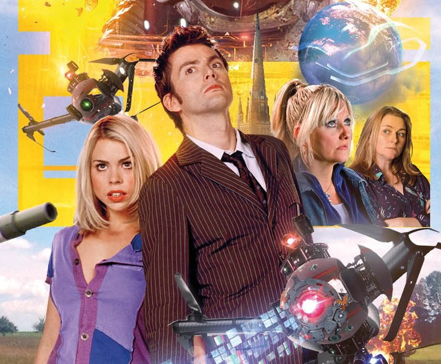 BIG FINISH: Covers Revealed For Tenth Doctor & Rose Big