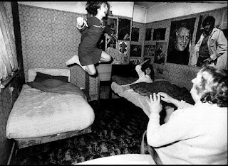 Enfield Poltergeist redecorated green street 1970's