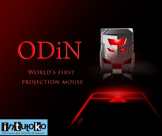 ODiN Worlds first projection mouse