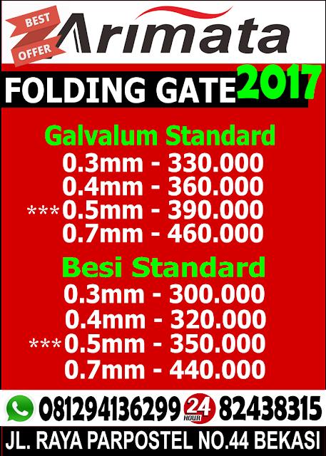 gambar Folding gate Mangun Jaya Tambun bekasi