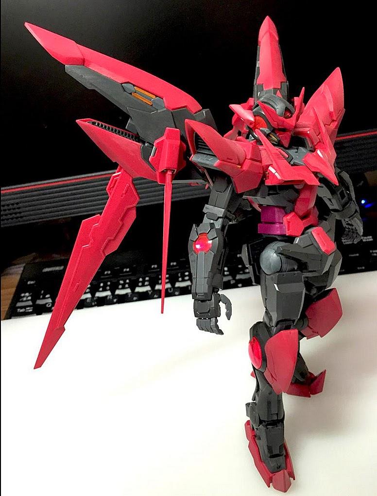 GUNDAM GUY: MG 1/100 Gundam Exia Dark Matter - Released in ...