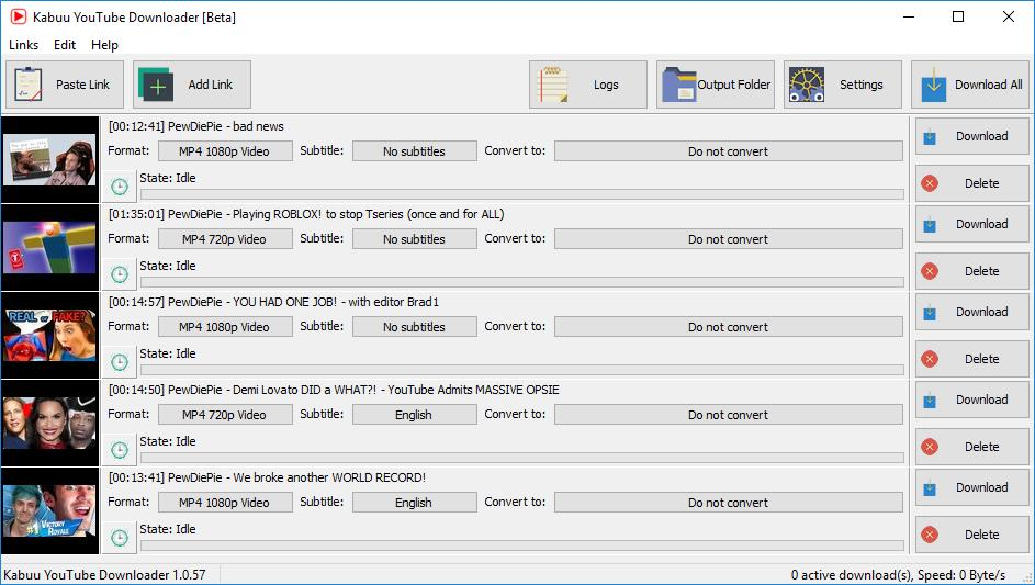 Kabuu Video Downloader 1.0.0.70