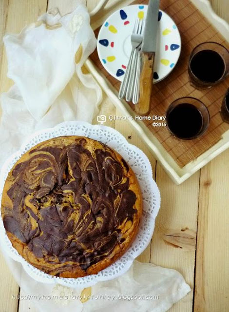 Resep Marmer Cake Irit Telur