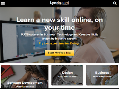 Lynda.com offers unlimited access to more than 80,000 videos on a broad range of different subjects