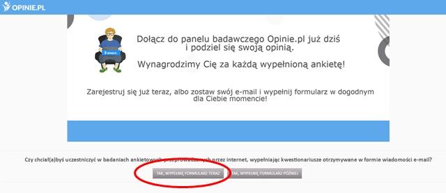 rejestracja opinie.pl