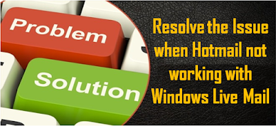 recover hotmail email issue