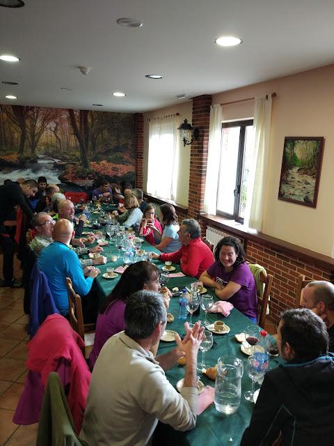 Ruta a la Barragana: II encuentro de montañeros astur leoneses