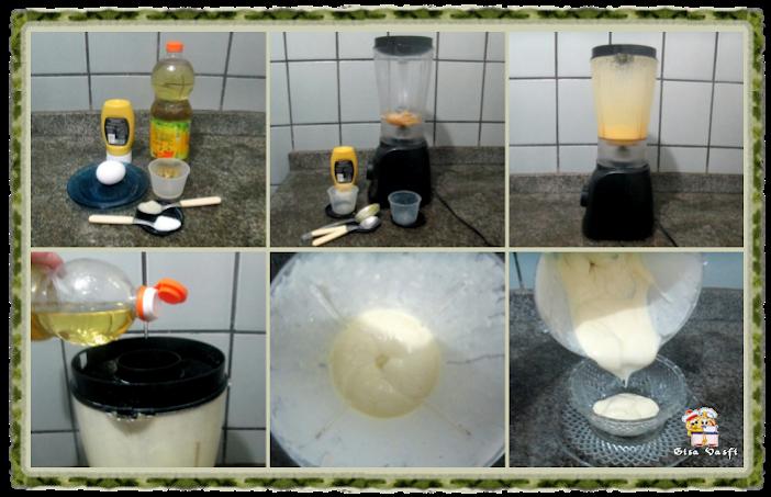 Maionese de ovo semi cozido 4
