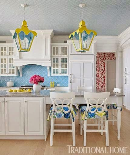 Preppy Home: Eye For Design: Decorating Palm Beach Preppy Style
