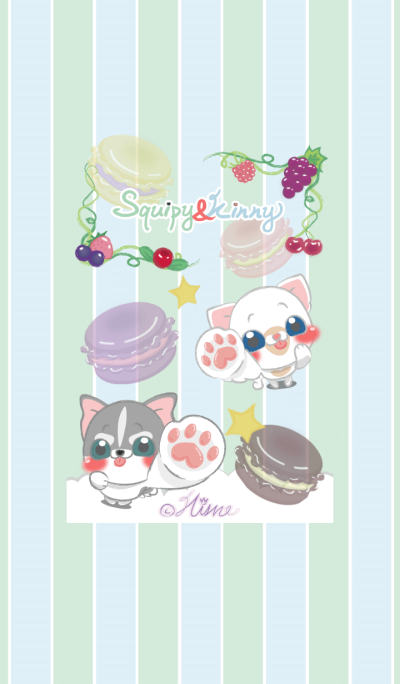 Squipy&Kinny-Dream of Macaron and Berry