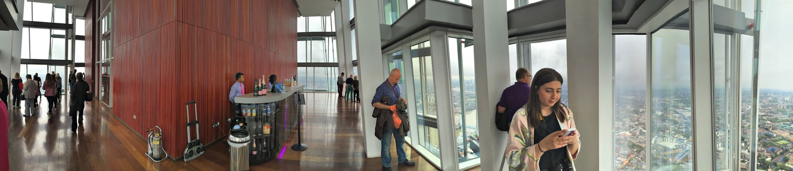 panorama The Shard london