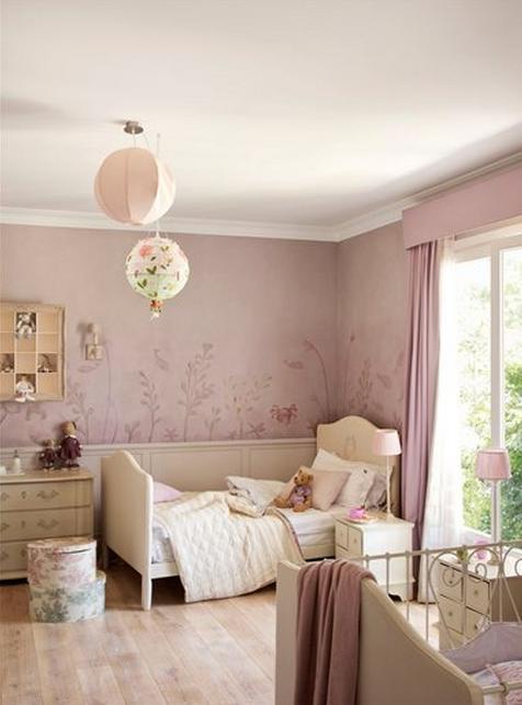 En casa de t a gretel ideas deco para una habitaci n de ni a - Ideas para pintar habitaciones infantiles ...