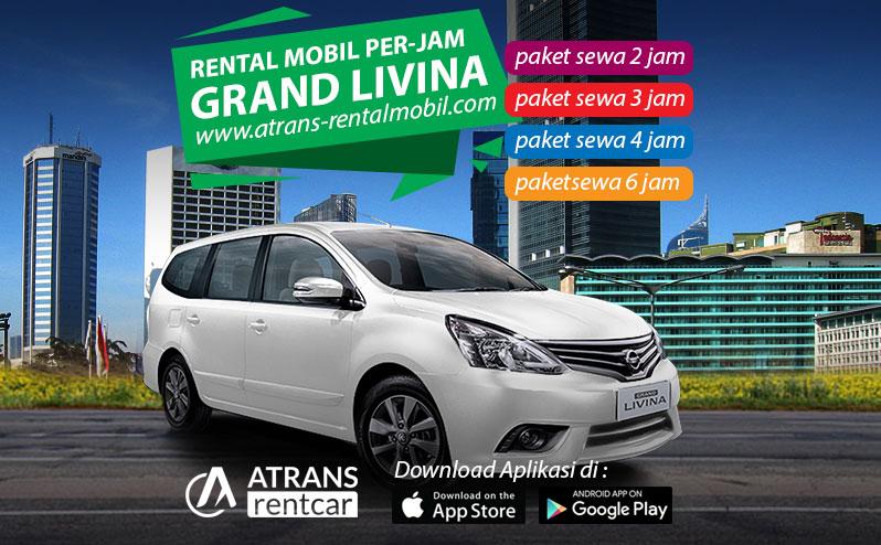 Rental Mobil Murah Per jam nissan grand livina