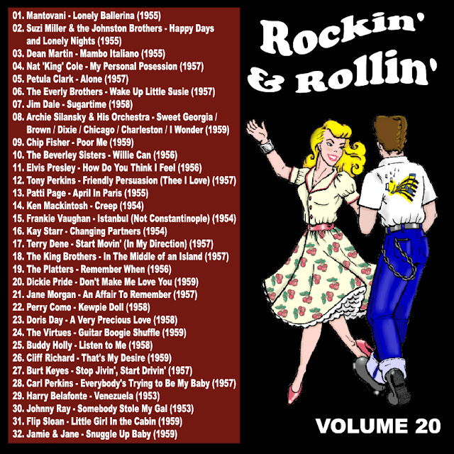 Cd collection Back To The 50's - Rockin' & Rollin' 20 Back%2B20