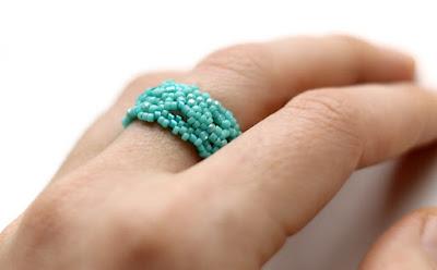 купить необычные женские кольца бирюзового цвета фриформ украшения