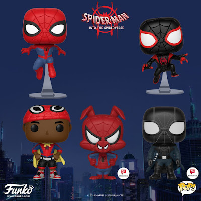Spider-Man Into the Spider-Verse Pop! Series by Funko x Marvel