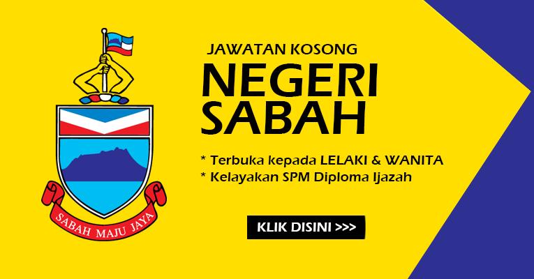 Jawatan Kosong Terbaru di Negeri Sabah