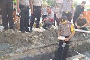 Kapolres Kep. Selayar letakkan Batu Pertama Gedung Utama Polres