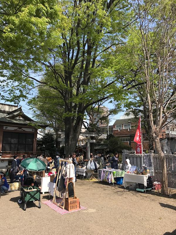手創り市 | 鬼子母神・大鳥神社 | 2017-04-16 の日々雑感