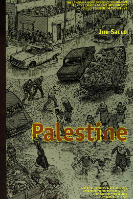 Read online Joe Sacco - Palestine graphic novel