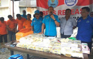 Terungkap! Jaringan Narkoba Internasional yang Ditangkap BNN Lalui Jalur Laut di Pantai Pane-Labuhanbatu