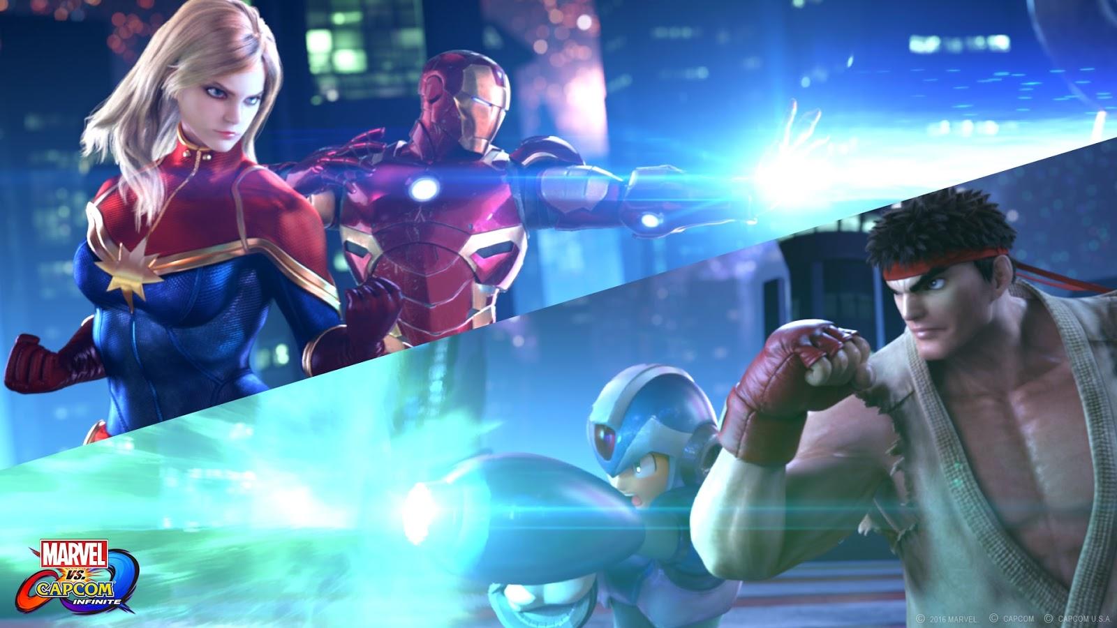 Se filtran los supuestos personajes de Marvel vs Capcom: Infinite