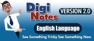 Digi Notes : English