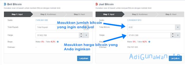 Bitcoin Spot Market Indodax.com