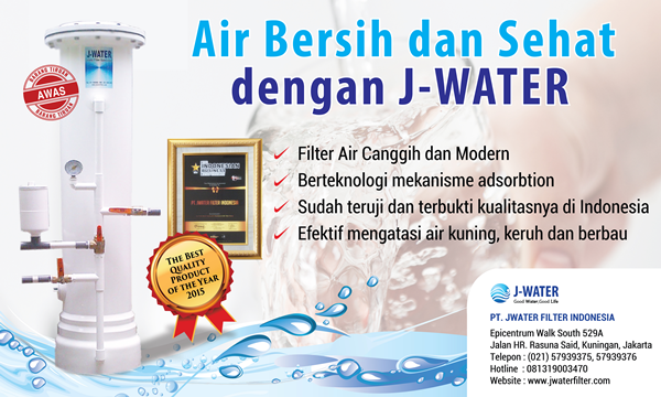 j-water filter air terbaik surabaya no 1