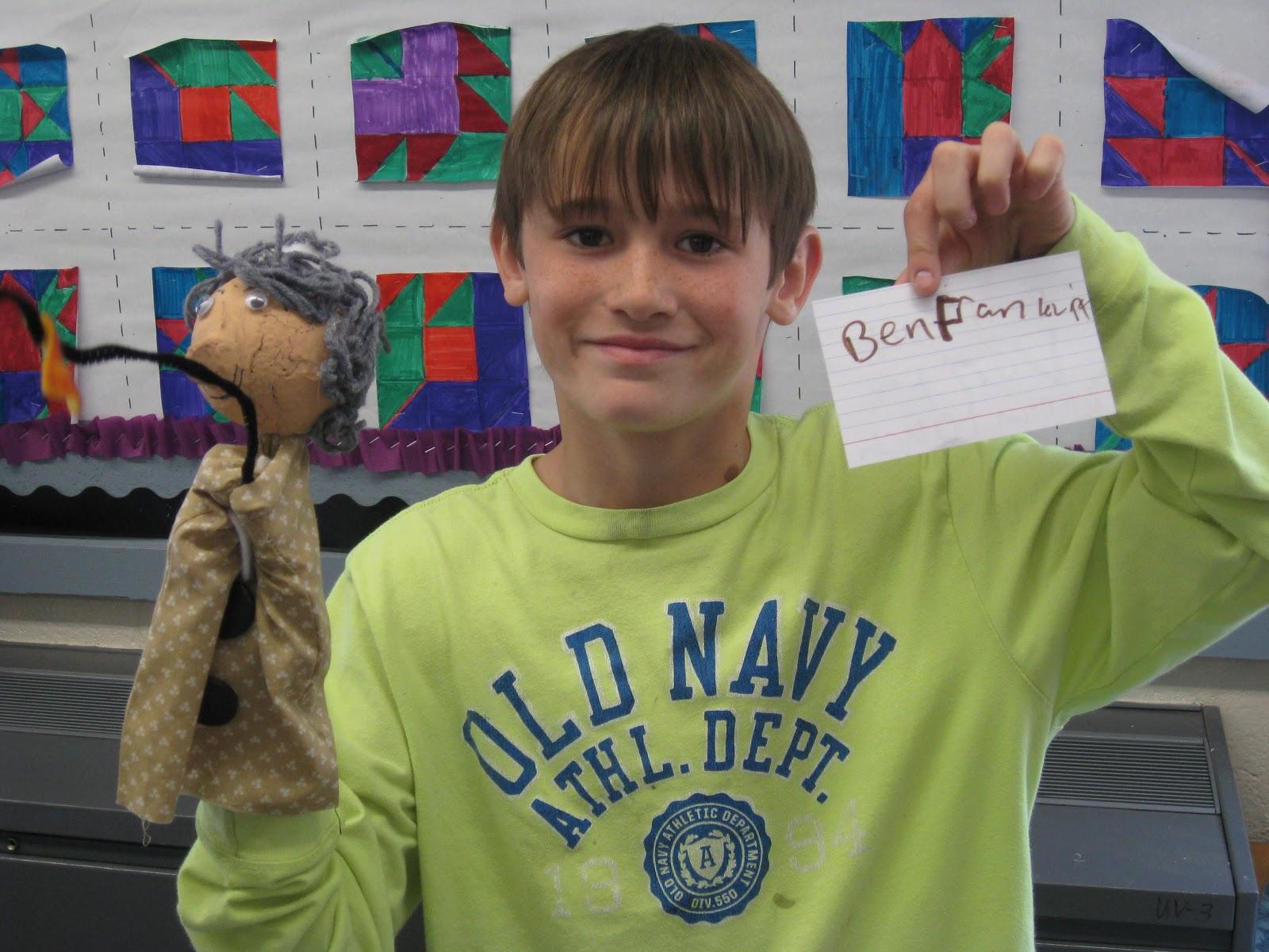 Mrs Gannon S Fantastic Fourth Grade Biography Puppets