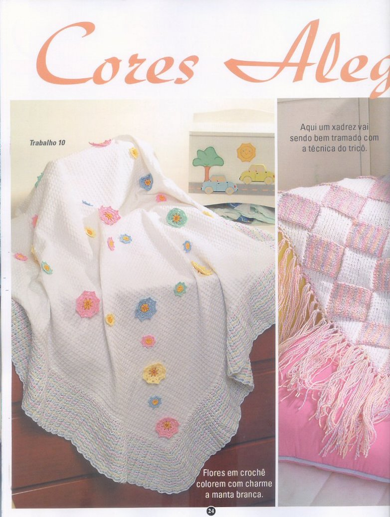 Revista mantas crochet y tricot - Revistas de crochet y tejidos gratis