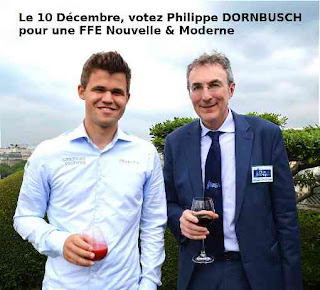 Magnus Carlen et Philippe Dornbusch - Photo © Chess & Strategy