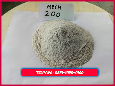 Pasir silika tepung mesh 200