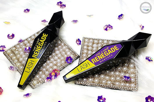 WET N WILD LASH RENEGADE MASCARA: DON'T LET THE BRUSH SCARE YOU AWAY!