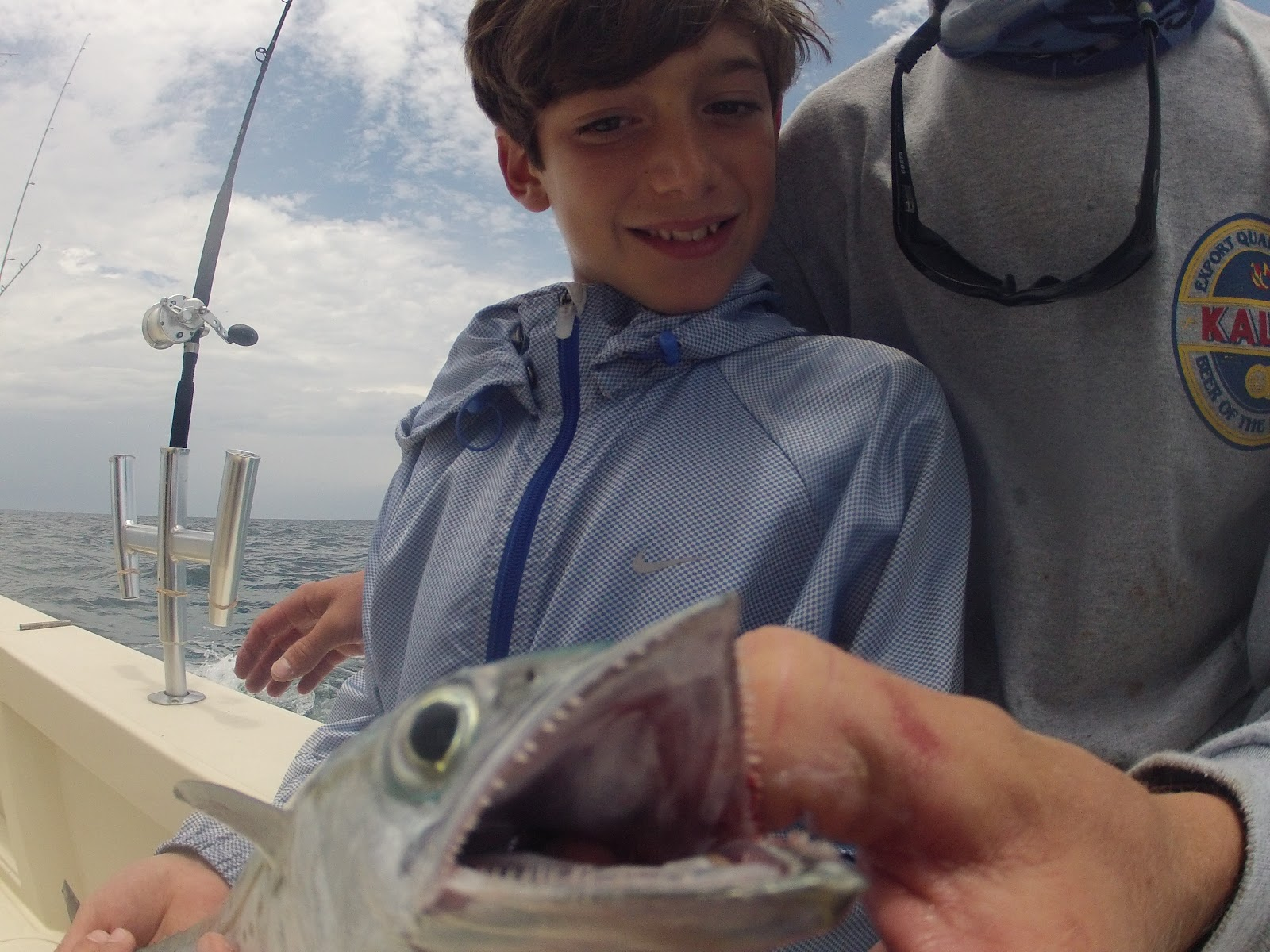 Kids fishing in miami double threat charters for Fishing in miami