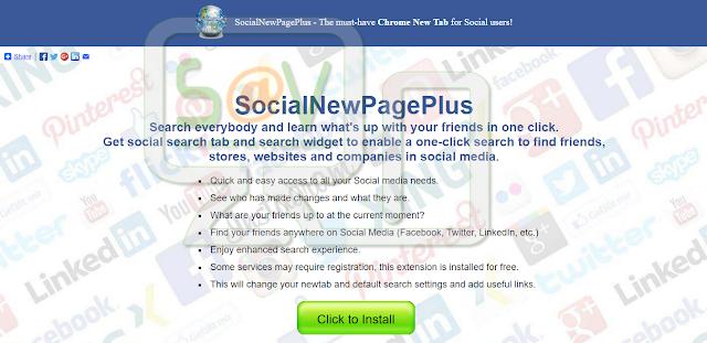 Social New Page Plus o SocialNewPagePlus