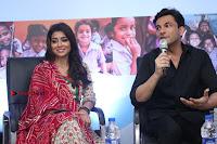 Shriya Saran and Meenakshi Dixit Pos at Quaker Feed A Child Campaign  0025.jpg