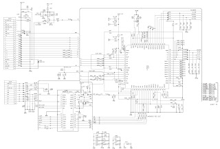 LG CM9550 SMPS and Power amplifier circuit diagram