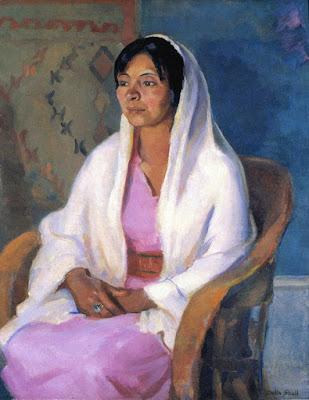 Taos Woman, Della Shull