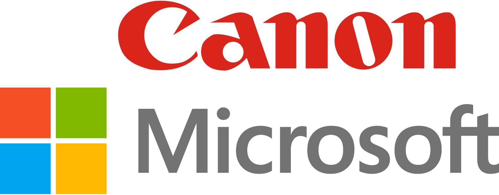 Canon And Microsoft
