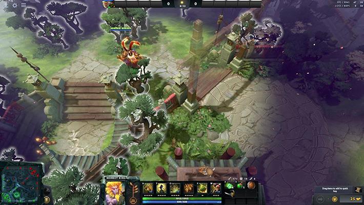 The King's New Journey - Terrain | Dota 2 Mods
