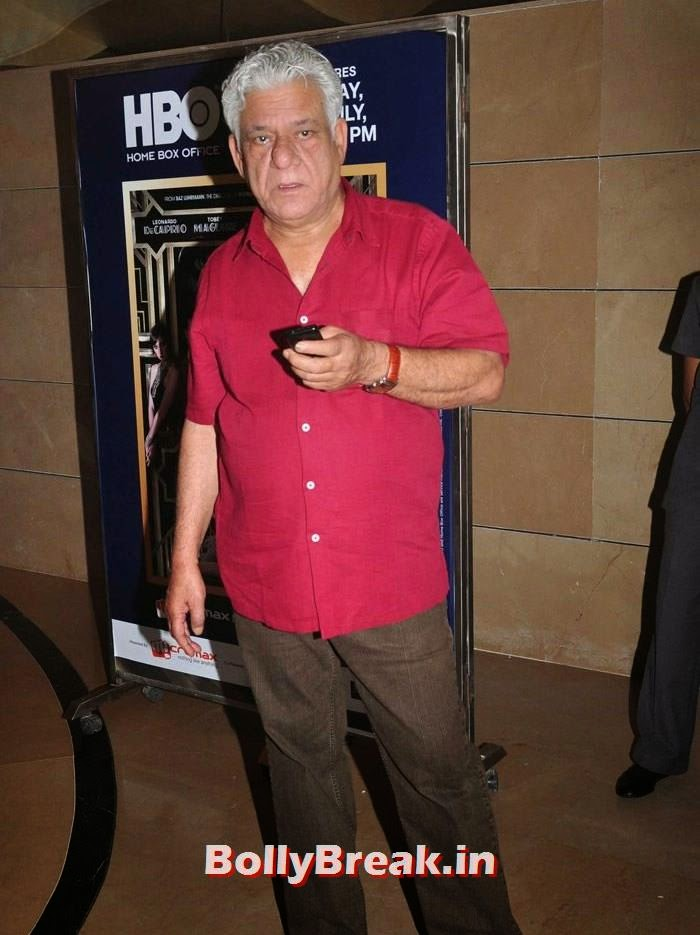 Om Puri, 'The Hundred-Foot Journey' Movie Special Screening