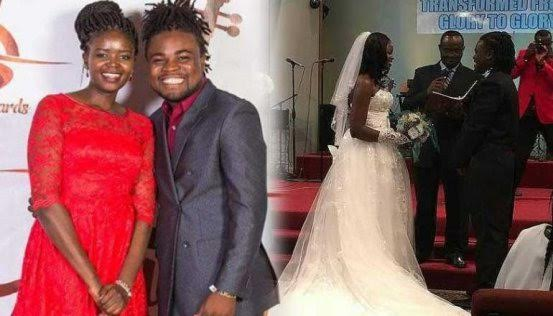 Kenyan gospel singer ends her marriage only hours after tying the knot saying her heart is elsewhere
