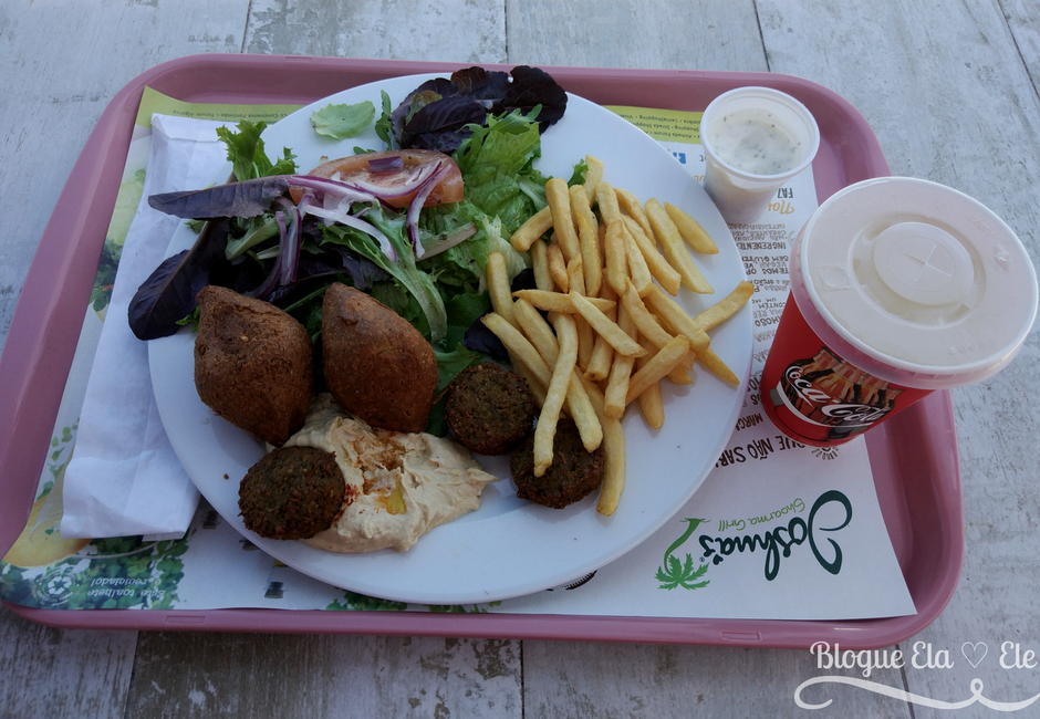 Joshuas + pita shoarma + restaurante português + comida vegetariana+ blogue português de casal + blogue ela e ele + ele e ela + pedro e telma