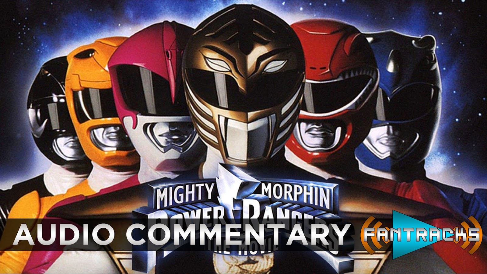 FanTracks Mighty Morphin Power Rangers: The Movie audio commentary