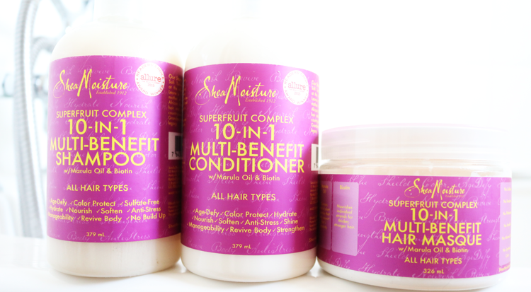 SheaMoisture Superfruit Complex 10-in-1 Multi Benefit Shampoo, Conditioner & Hair Masque review