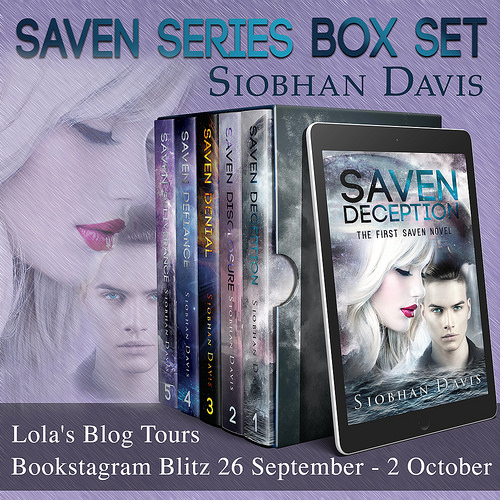 Saven Series Box Set banner