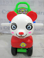2 SHP Panda Odong-Odong Ride-on Car
